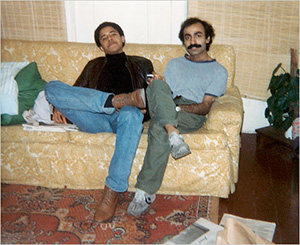 Where is Obamas past?