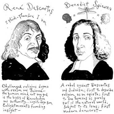descartes vs spinoza Ontological definition of god - descartes vs spinoza on substance.