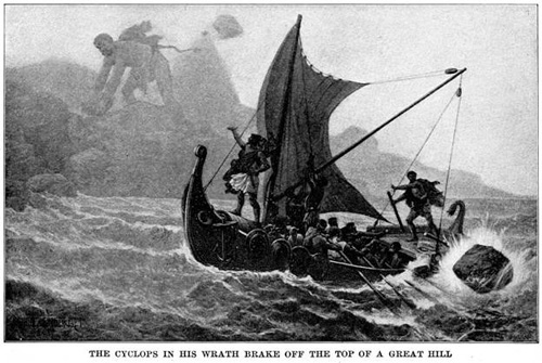 a report on the odyssey by homer Homer's great epic the odyssey—one of western literature's most enduring and important works—translated by richmond lattimorea classic for the ages,.